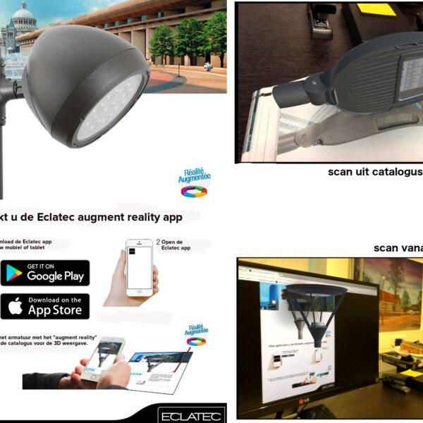 Armaturen op uw telefoon of tablet in 3D
