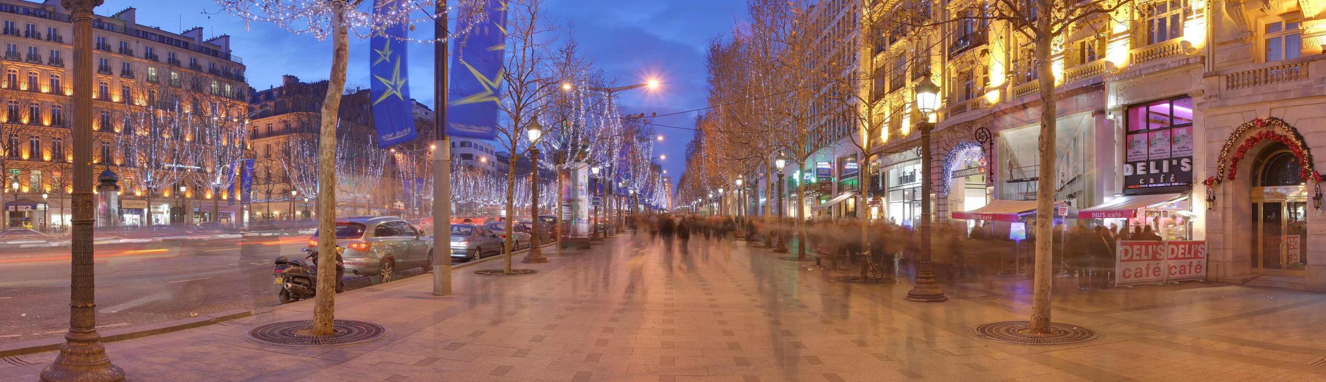 Champs Elysees Slider