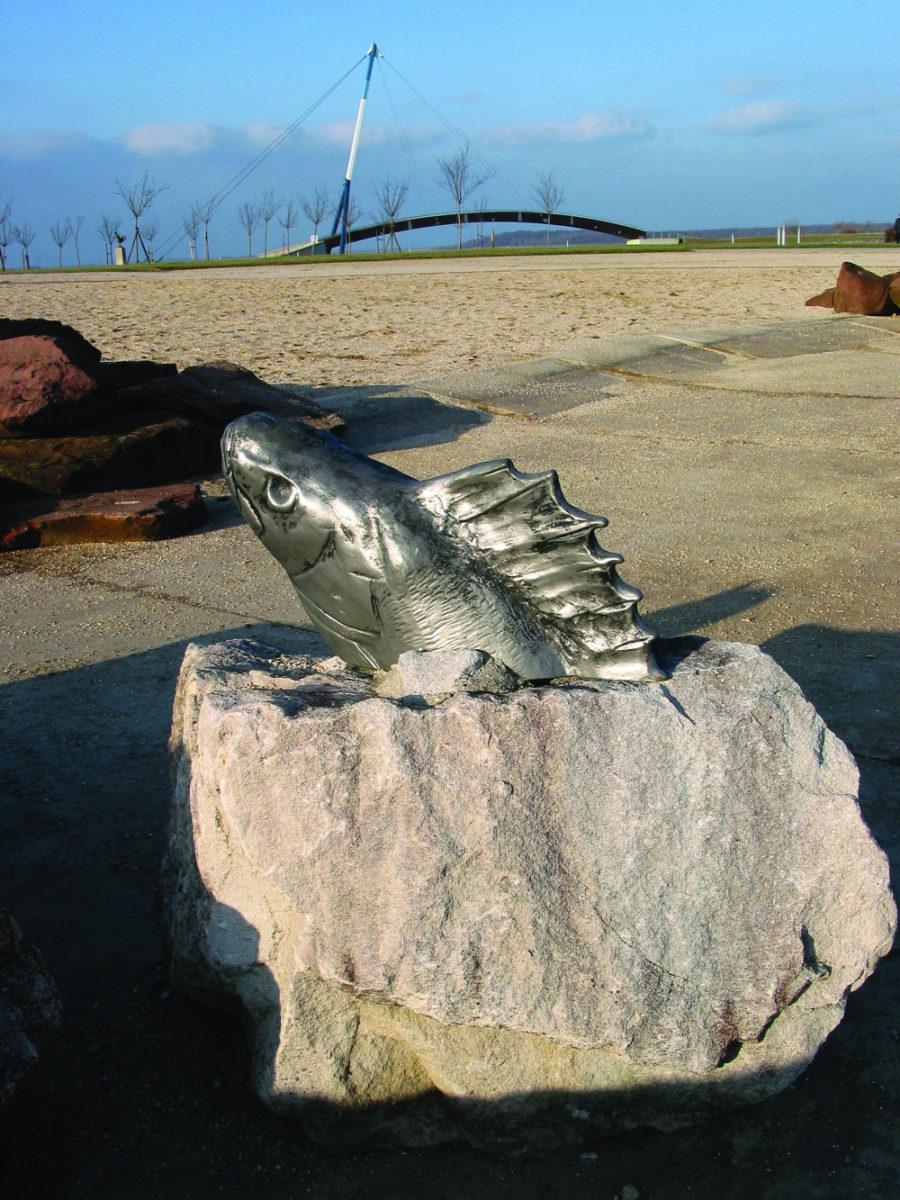 Im Gam Art Amphibes Poisson 1
