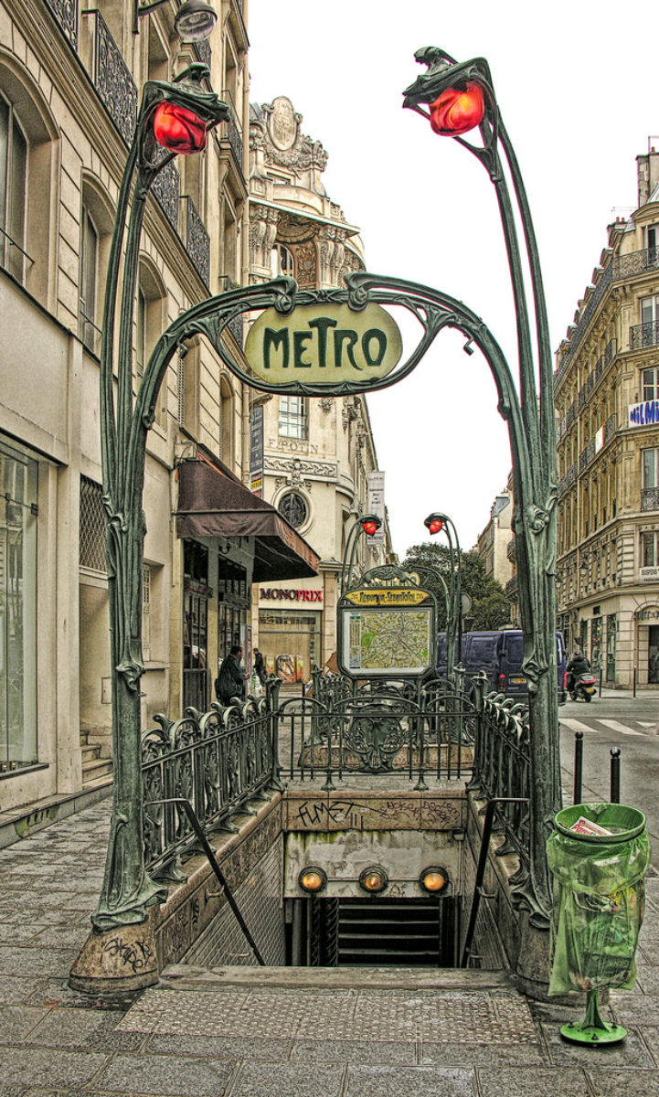 Metro Paris Hector Guimard Ghm Eclatec