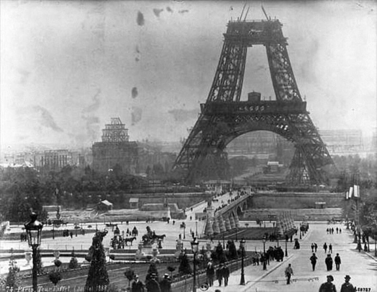 Ghm Parisien Masten Met Cheveneaux Armatuur 1887