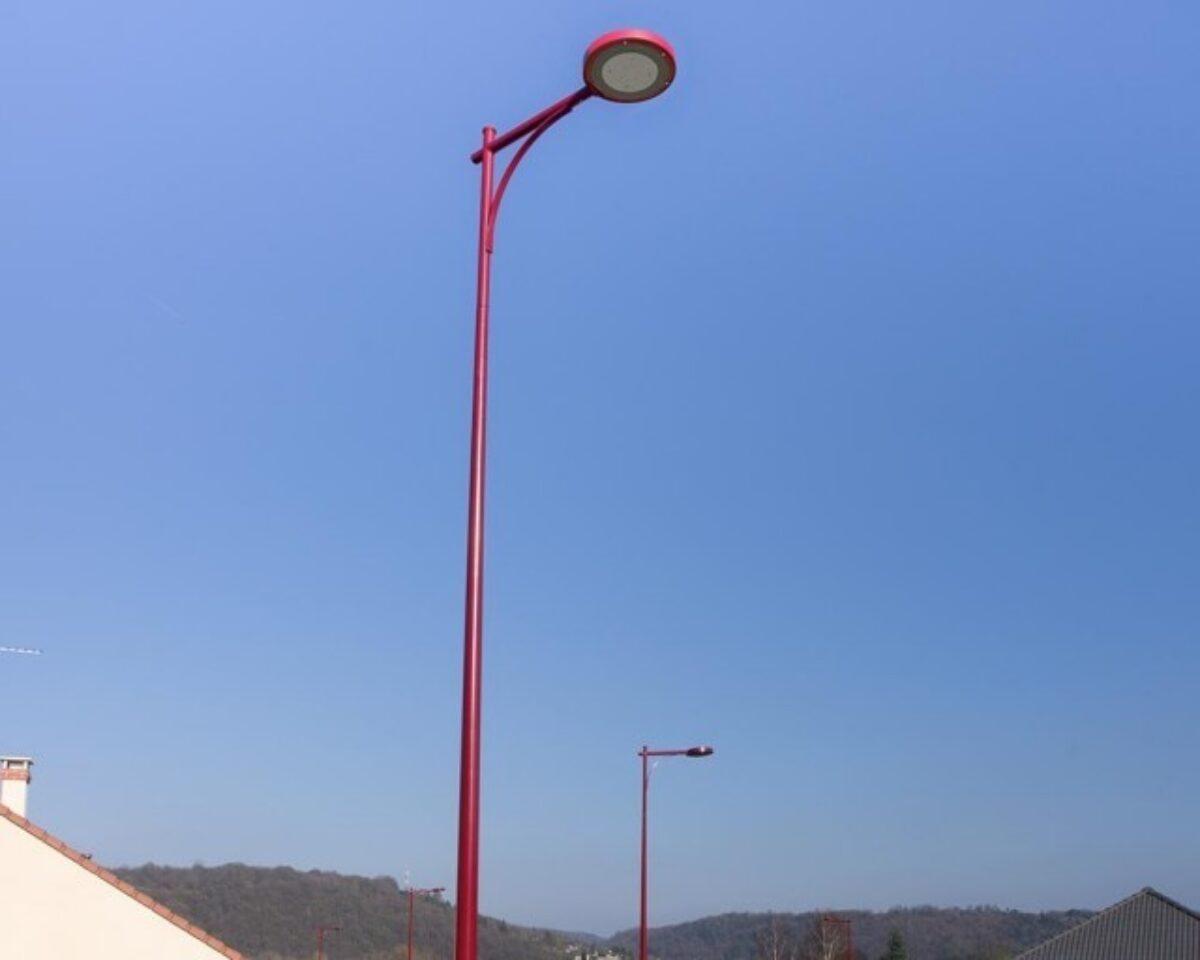 Mirane13 Steel Pole Ghm Eclatec