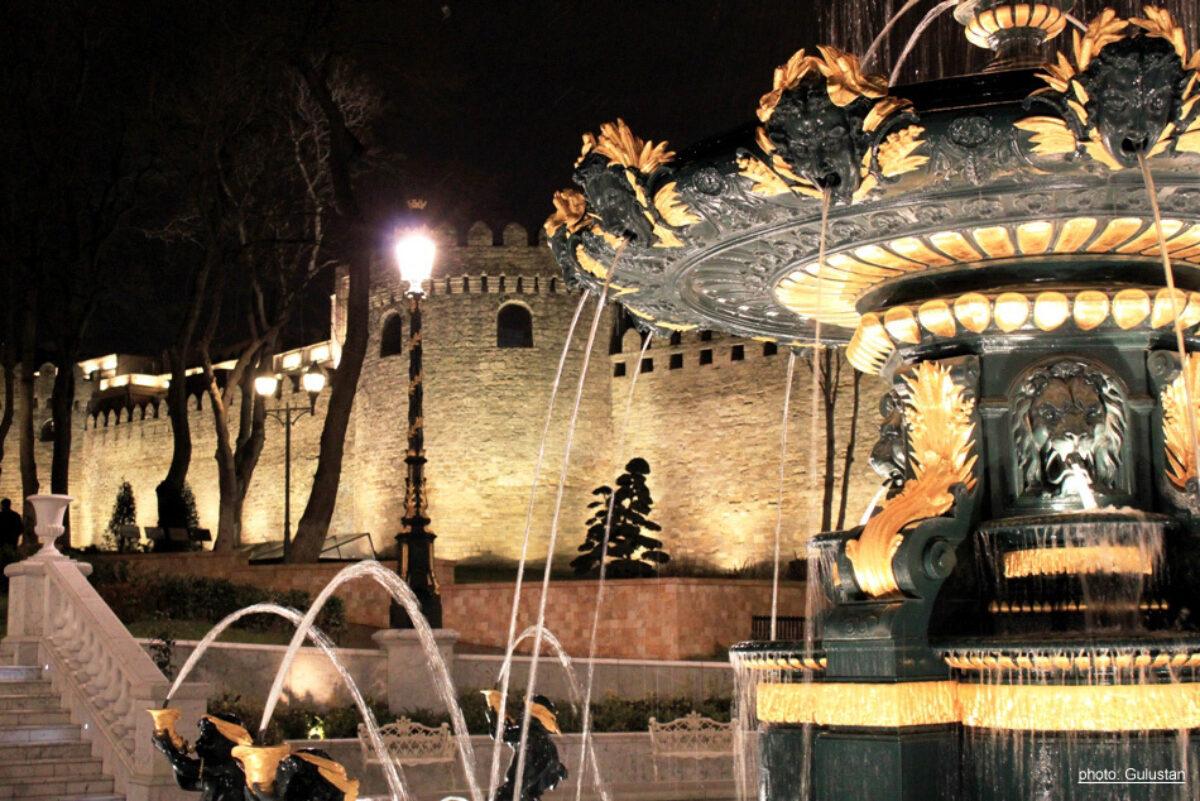 Baku Fountain 2