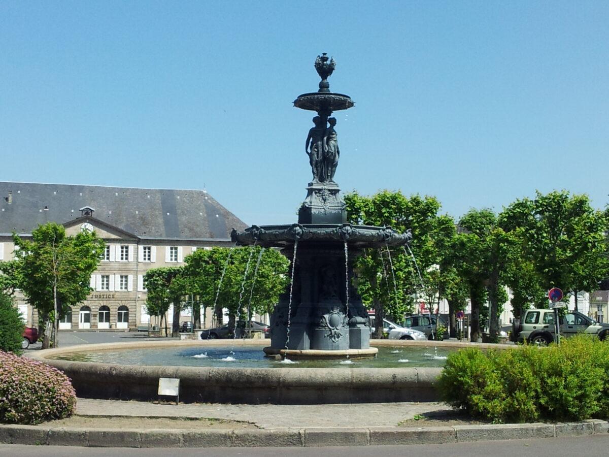 Gueret Fountain 1