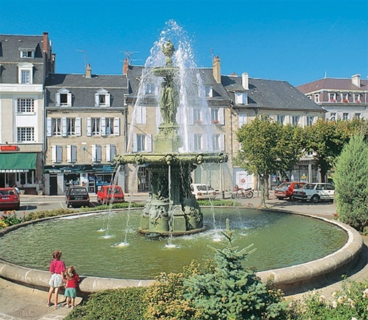Gueret Fountain 2