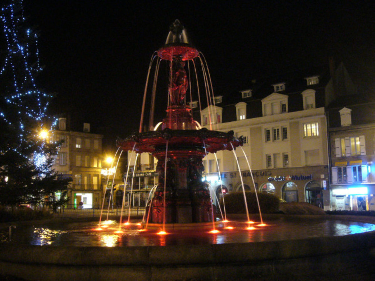 Gueret Fountain 3
