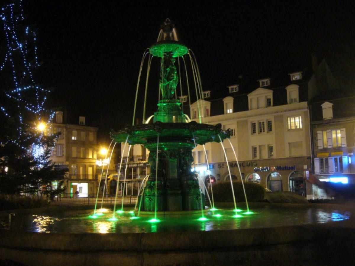 Gueret Fountain 4
