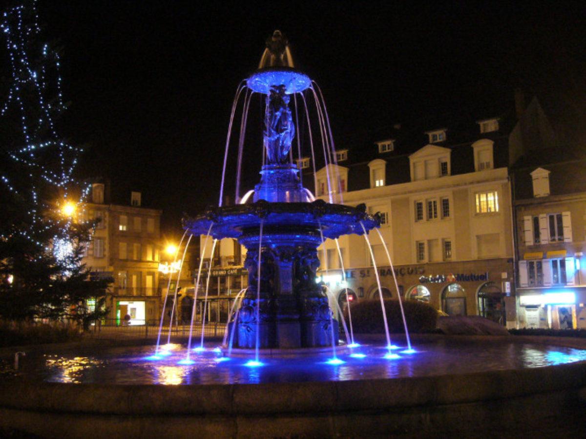 Gueret Fountain 5