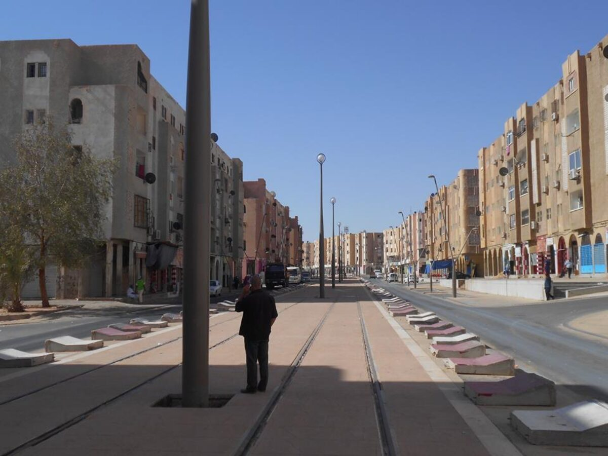 Tramway Ouargla Algeria 1